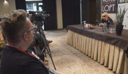 Konferencja prasowa Erica Burdona