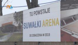 Suwałki Arena bez sponsora